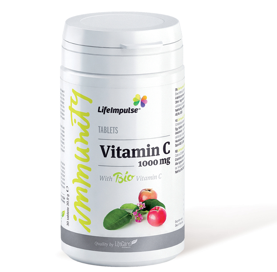 Vitamina C 1000 mg - antioxidant